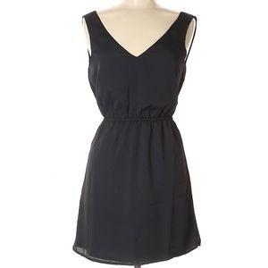 Tobi open back little black dress